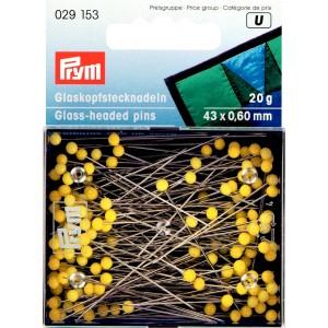 lange Glaskopfstecknadeln 43 x 0,60 mm