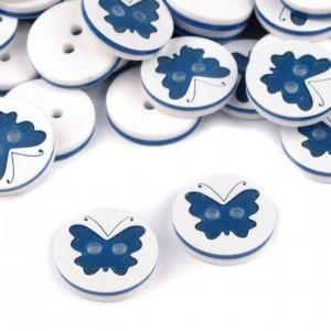 Knopf Schmetterling Ø 15,2 mm