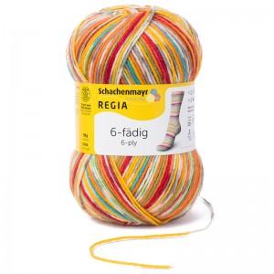 Regia 6fädig Color 150g ~ 375m