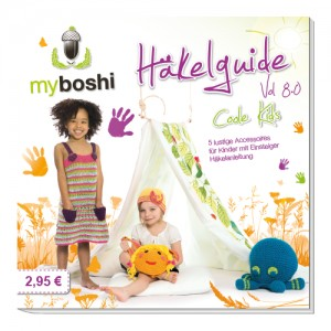 myboshi Vol. 8.0 Häkelguide Coole Kids