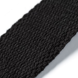 Gurtband für Taschen, 30mm, schwarz