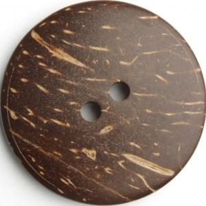 Kokosnussknopf Größe 30mm