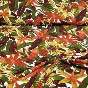 Baumwoll-Sweat mit Blumenmuster
