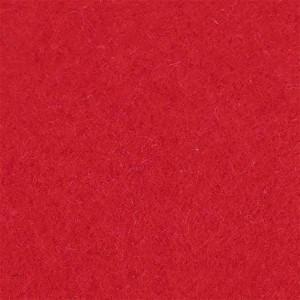 Bastelfilz 630 g/m² - rot - VE 10 cm