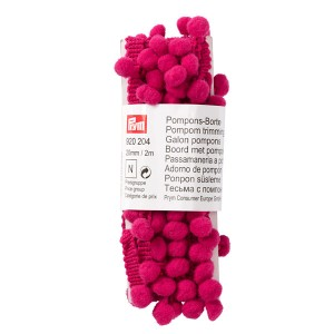 Pompons-Borte 20mm/2m