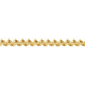 Brokatborte gold 10mm / 2m