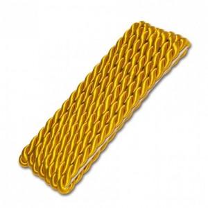 Zierkordel gelbgold 6mm / 1,5m