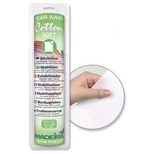 Madeira Cotton Soft Stickvlies abreißbar 1VE~1m