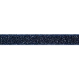 Flauschband zum Annähen, 20mm, marine, VE1m