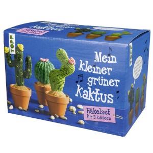 Mein kleiner grüner Kaktus - Häkelset für 3 Kakteen