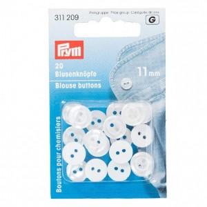 Blusenknöpfe 11 mm 20 St