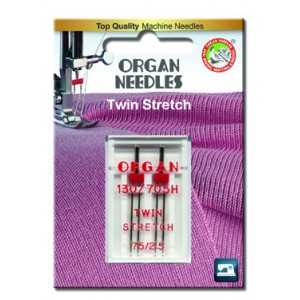 Zwillingsnadeln Stretch 75/2,5 mm