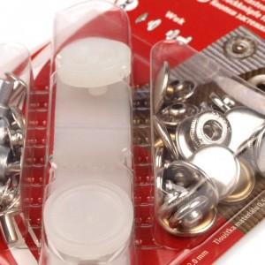 Druckknöpfe für mittelstarke Stoffe
