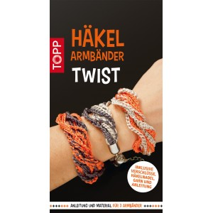 Häkelarmbänder Set Twist